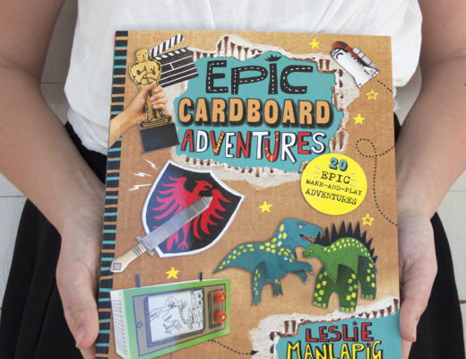 Boktips - Epic Cardboard Adventures
