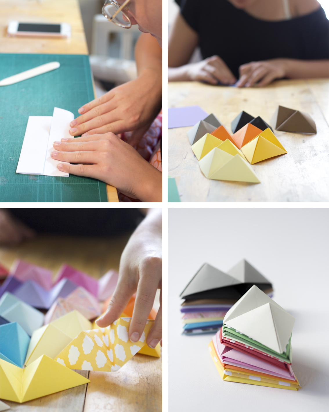 Origami Wall Art | Pysselbolaget