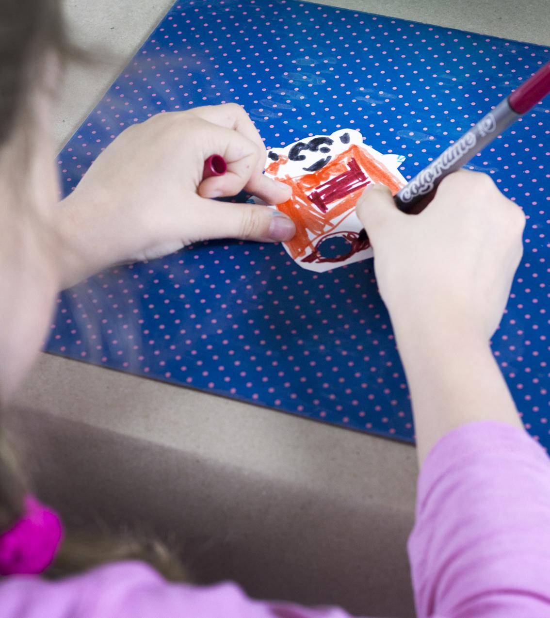 Julfina fingerdockor | Pysselbolaget