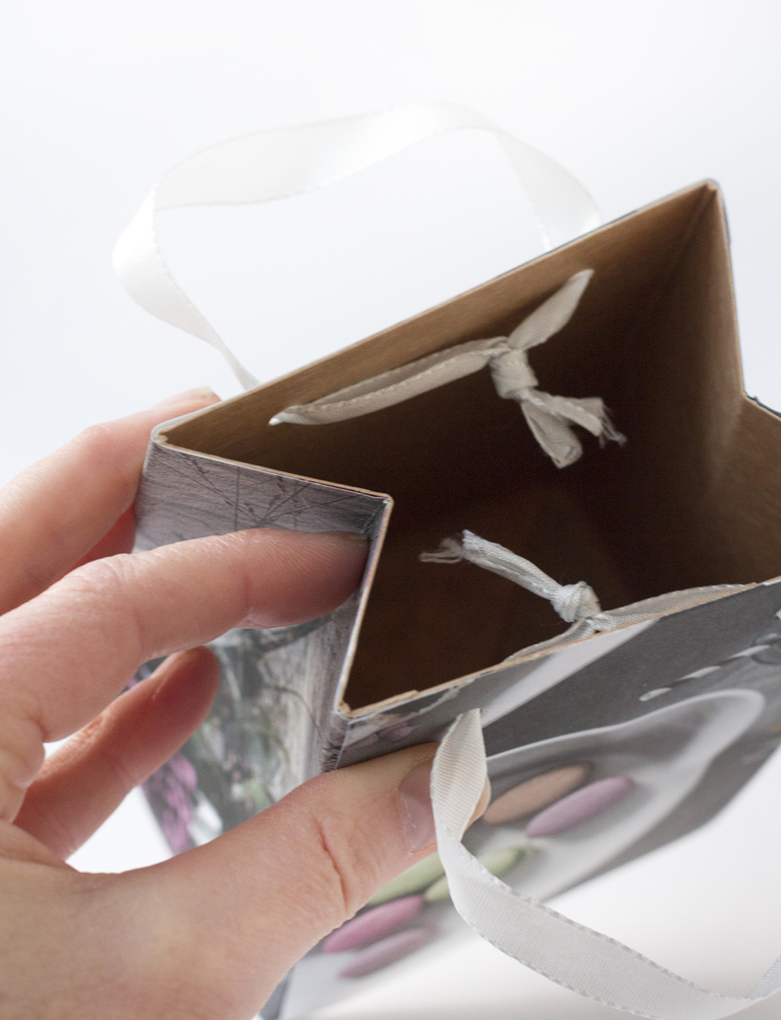 Presentpåsar av mjölkpaket | Pysselbolaget