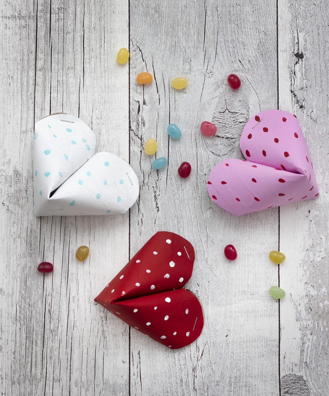 Hjärtan hushållspappersrullar | Pysselbolaget