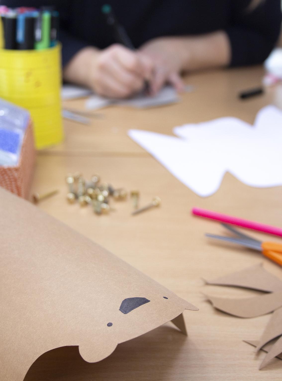Korgar i läderpapper | Pysselbolaget