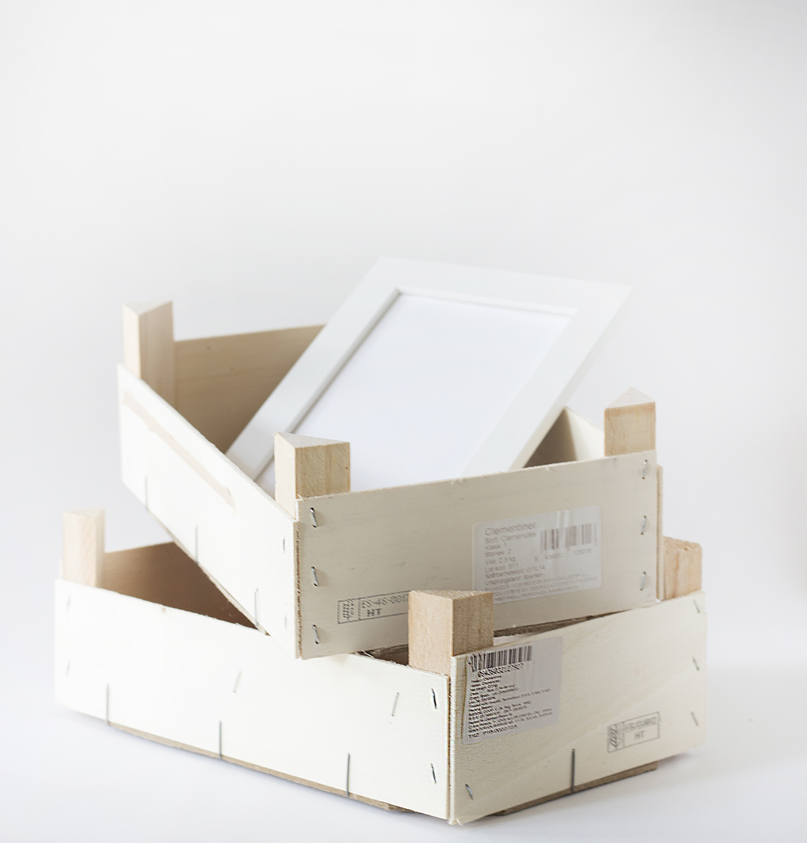 Dekorerade trälådor | Pysselbolaget