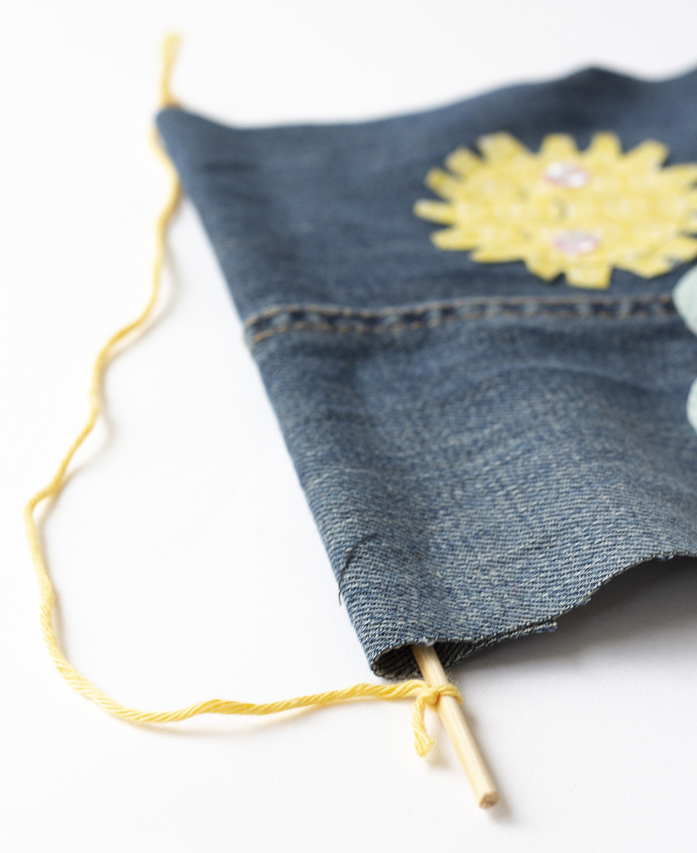 Vimplar i jeans | Pysselbolaget