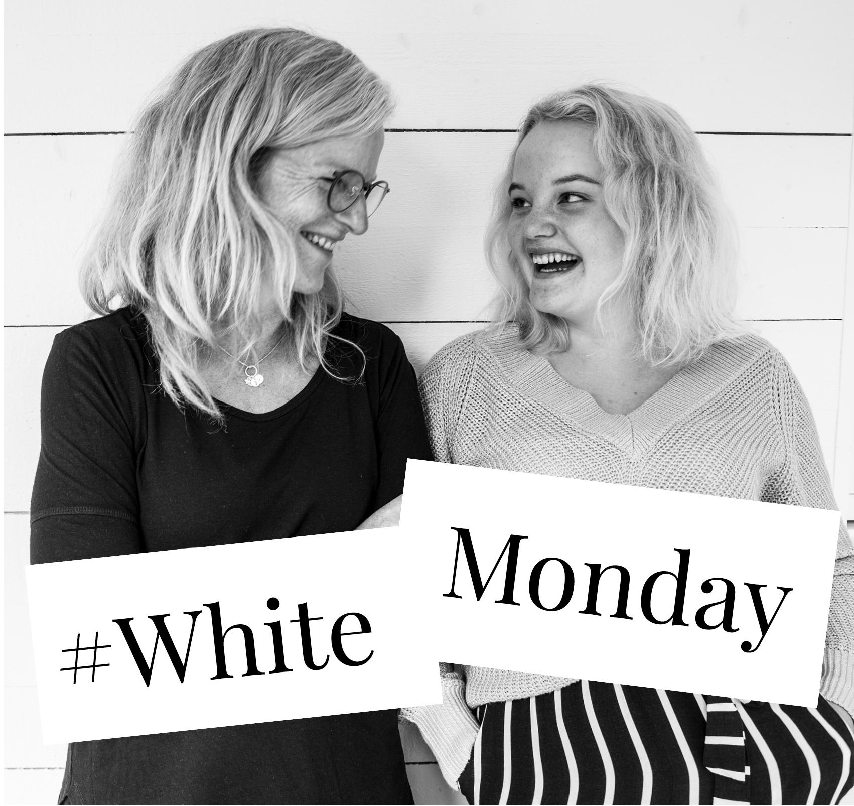 Hurra, idag är det White Monday!