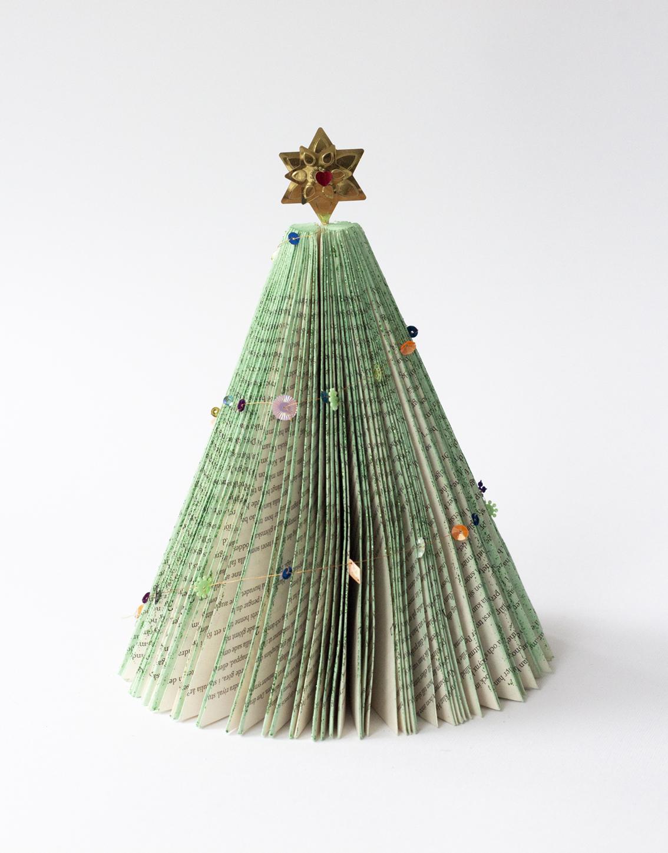 Julgranar av böcker | Pysselbolaget