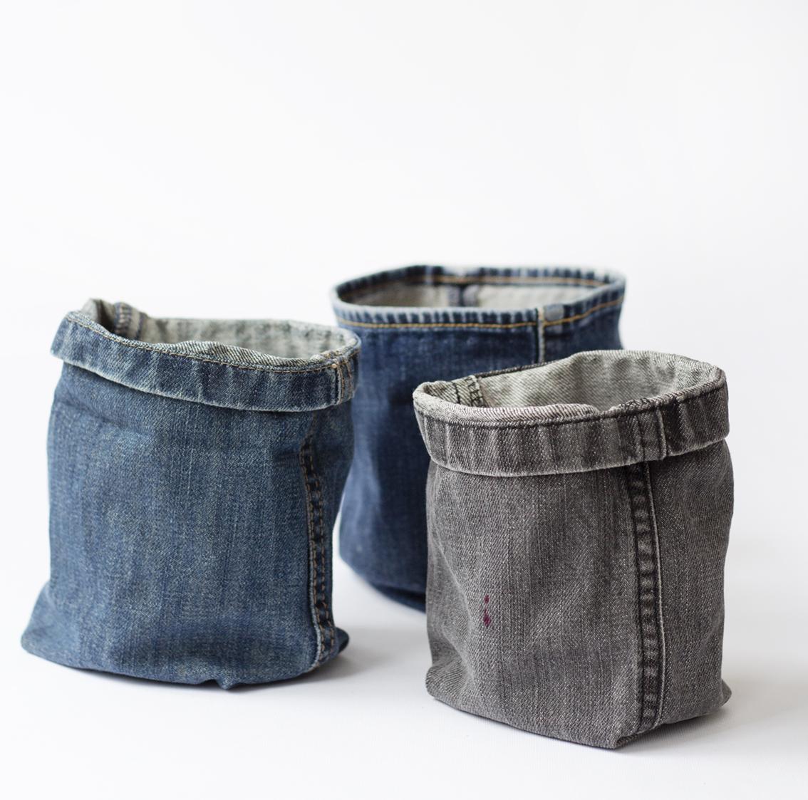 Jeanskorgar | Pysselbolaget
