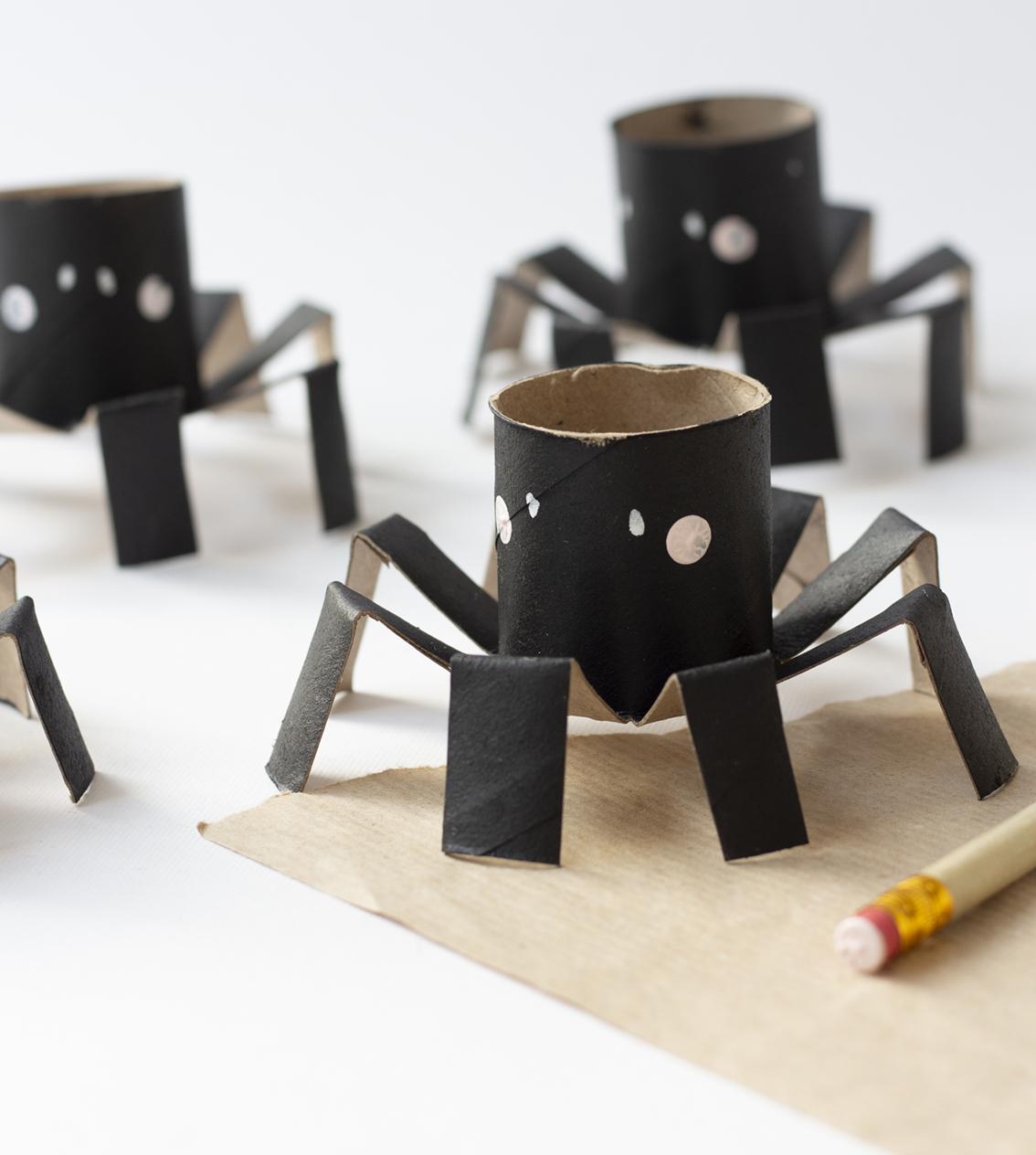 Halloween spindlar | Pysselbolaget