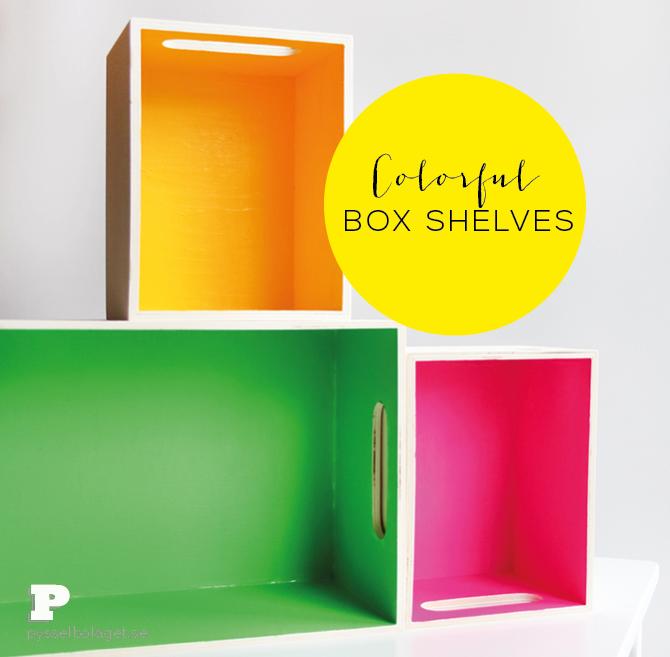 PB box shelves