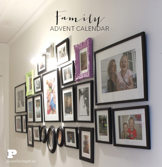 Family advent calendar PB nov 2014
