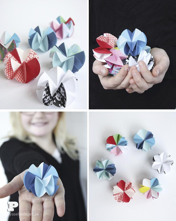 Paper stars Pysselbolaget 7