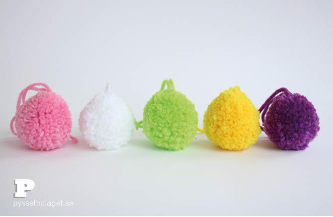 Pom Pom Easter Eggs 6