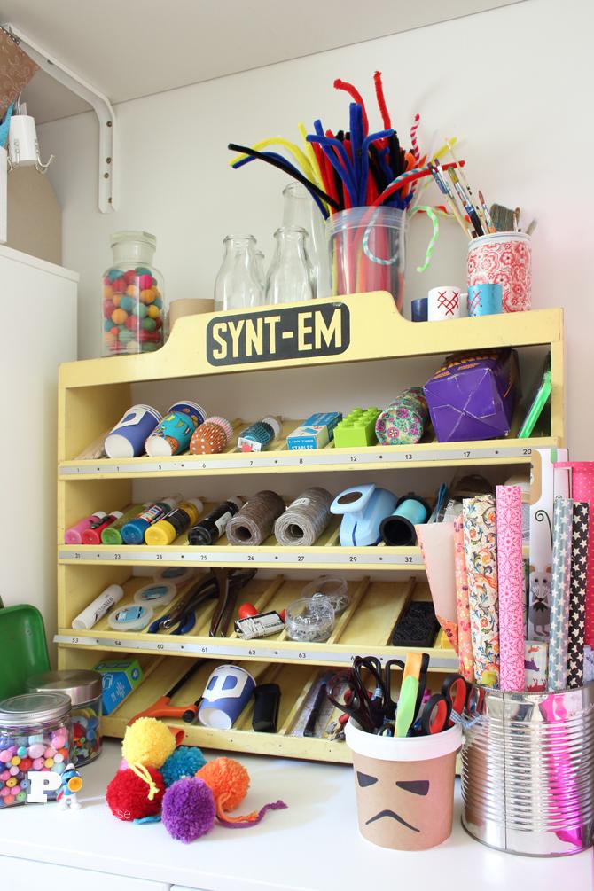 Pysselbolaget craft closet 9