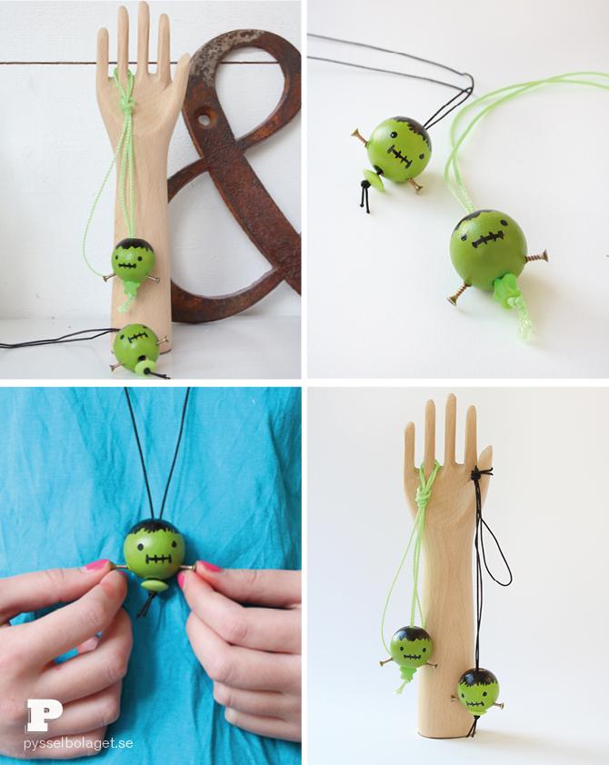 Frankenstein necklace5