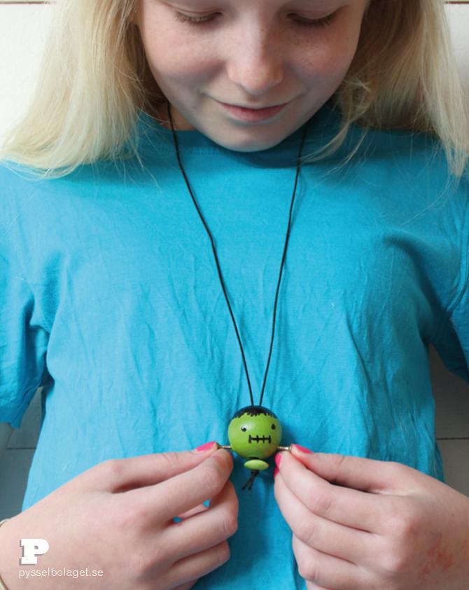 Frankenstein necklace6