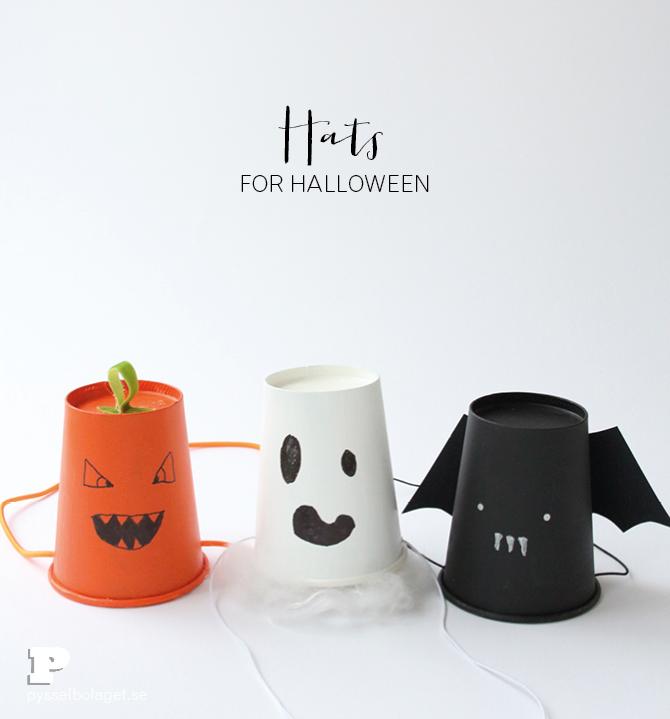 Halloween hats Pysselbolaget