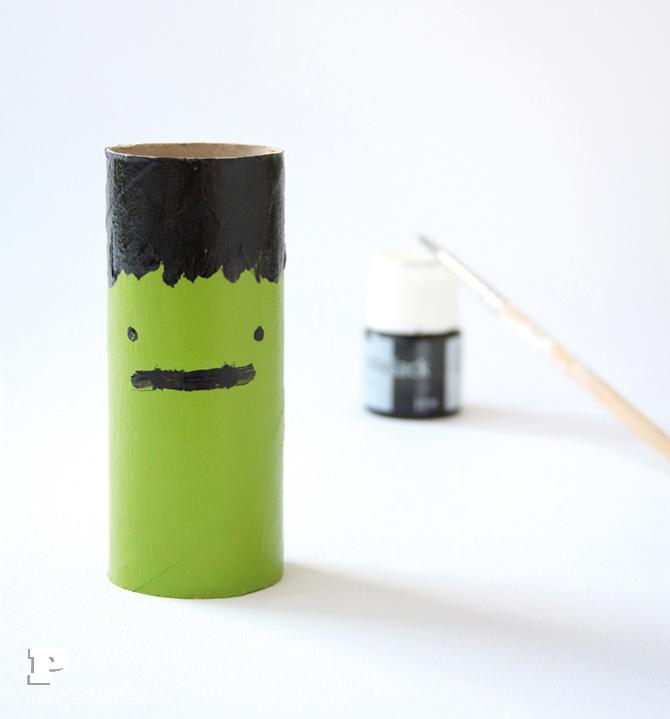 Toilet Roll Frankenstein4