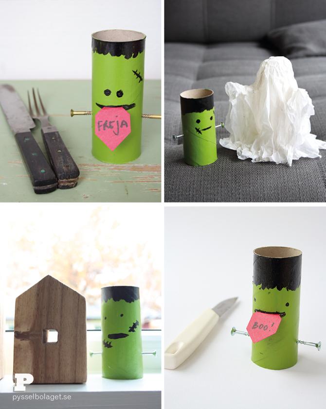 Toilet Roll Frankenstein7