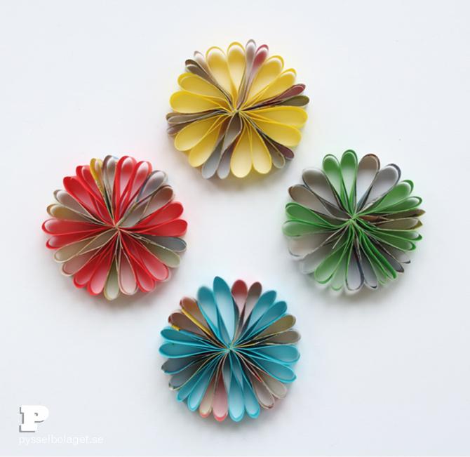 Paper flower ornaments7