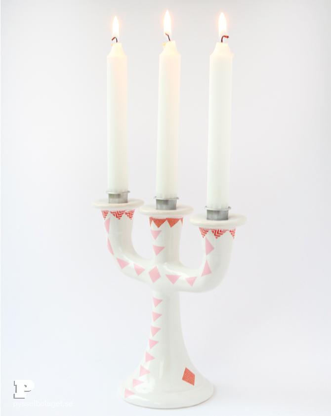 Washi tape candle holder6