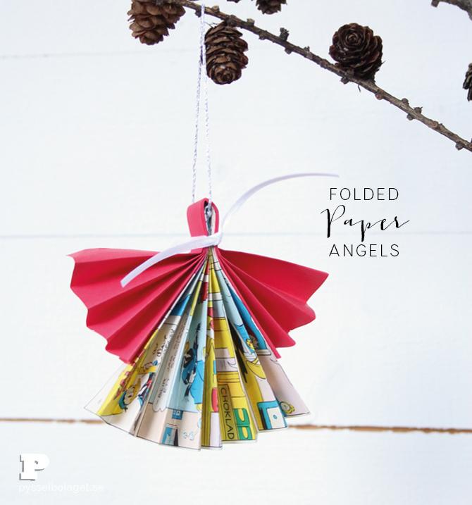 Folded Paper Angels