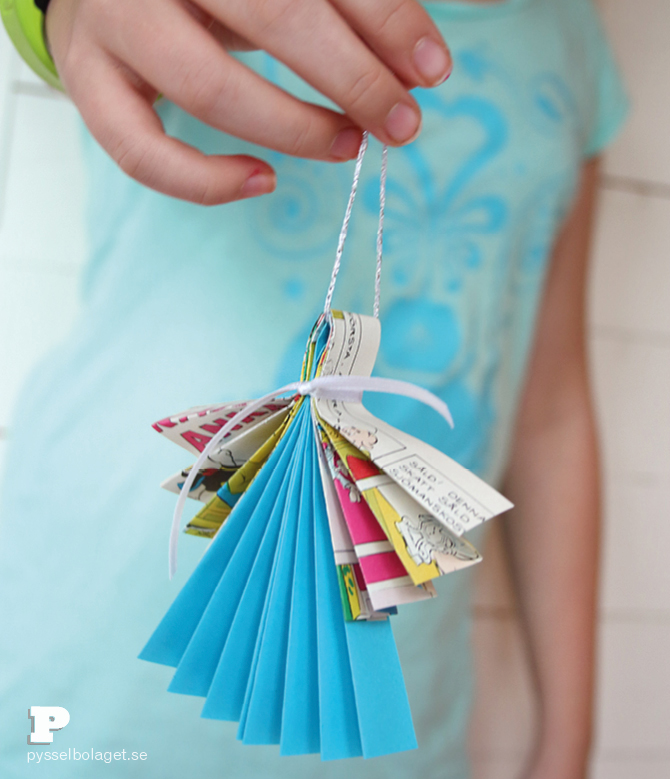 Folded Paper Angels4