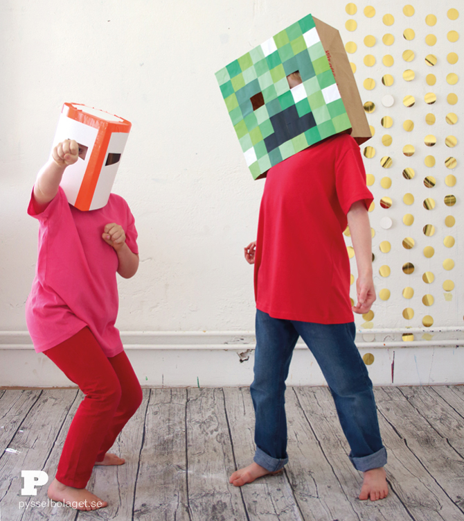Minecraft mask4