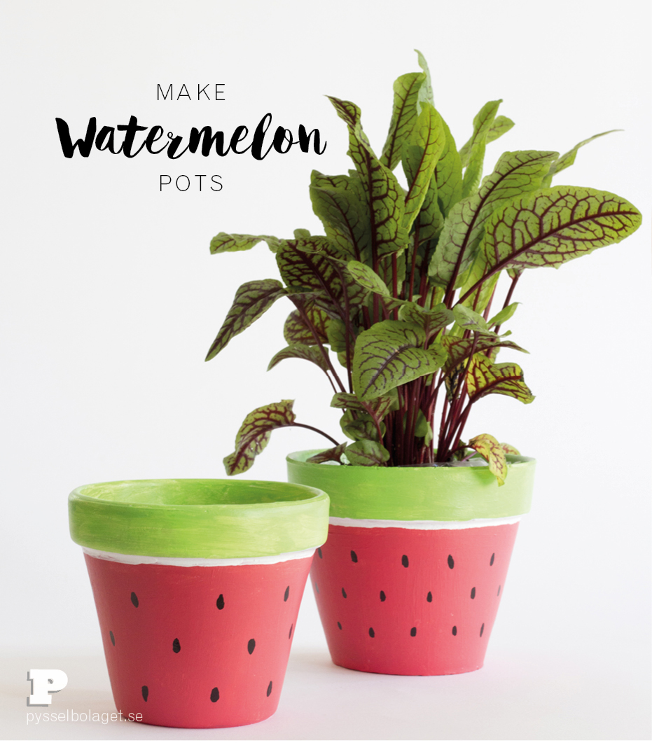 Watermelon Pots 2