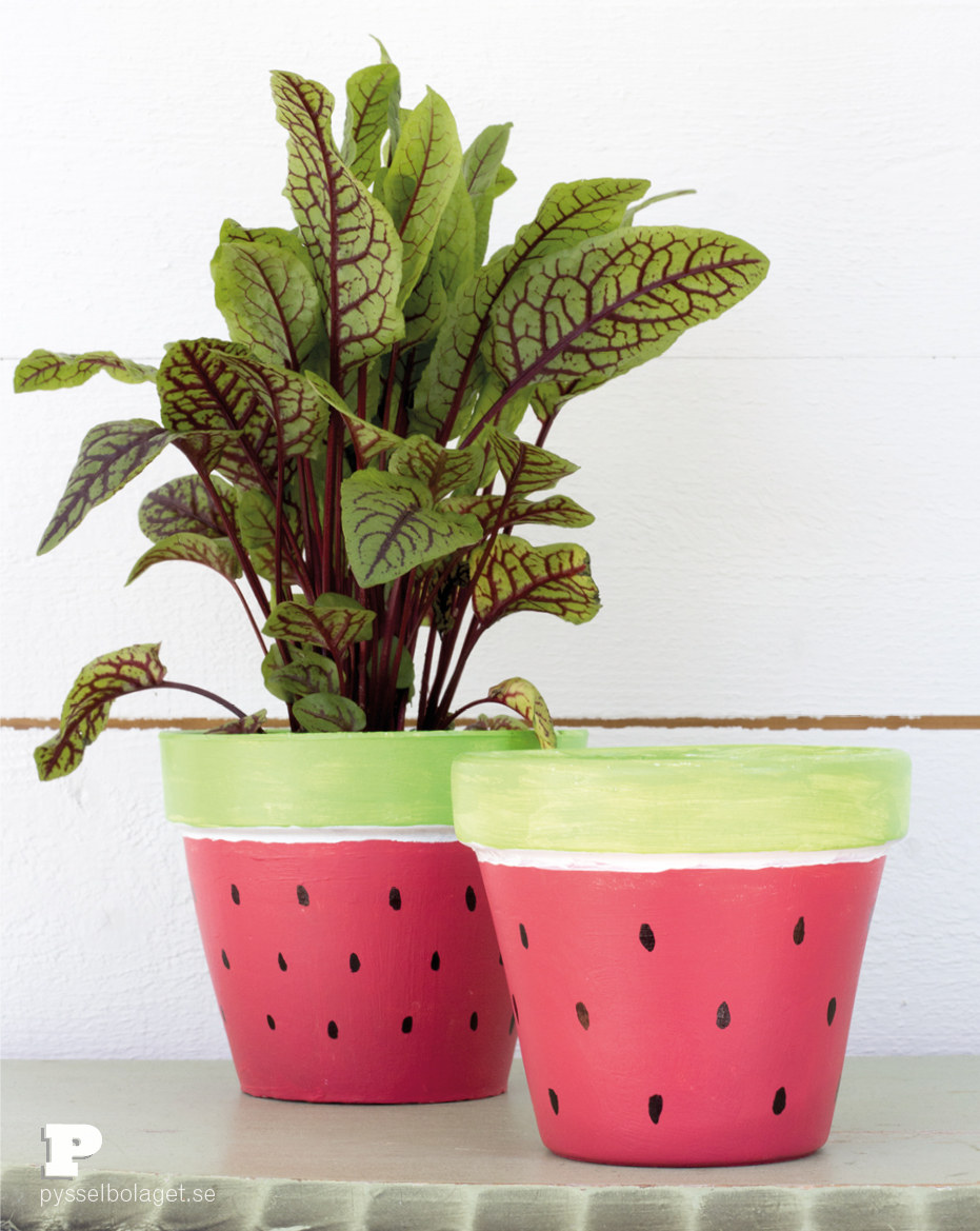 Watermelon Pots 7