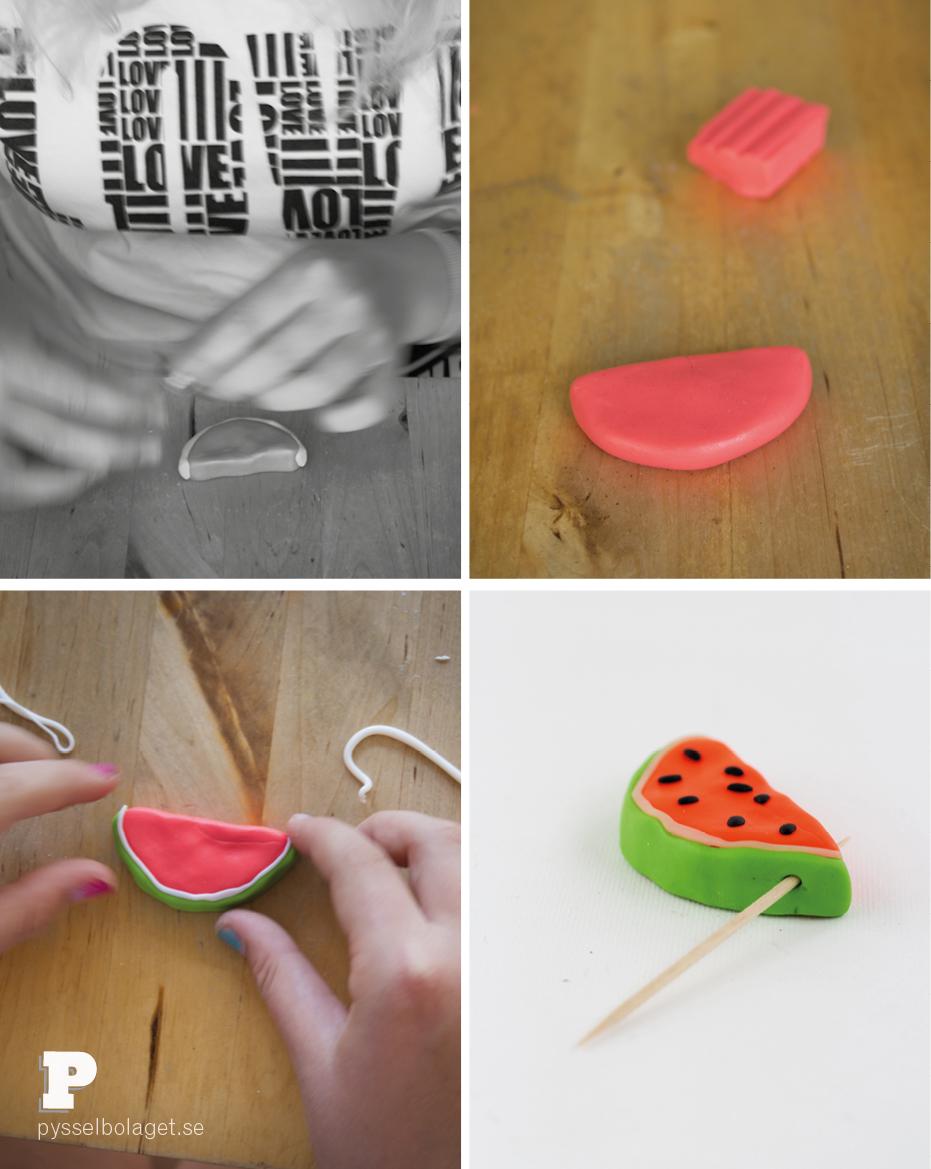 Watermelon pendants 3