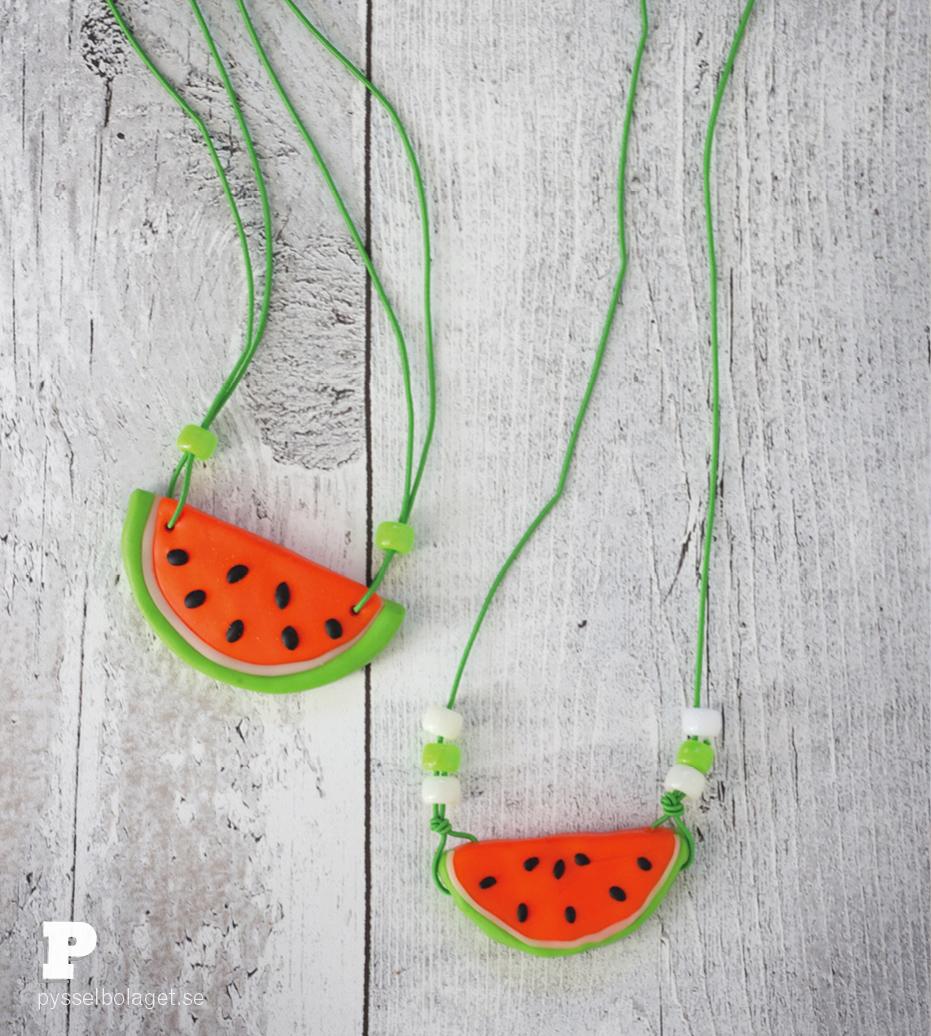 Watermelon pendants 6
