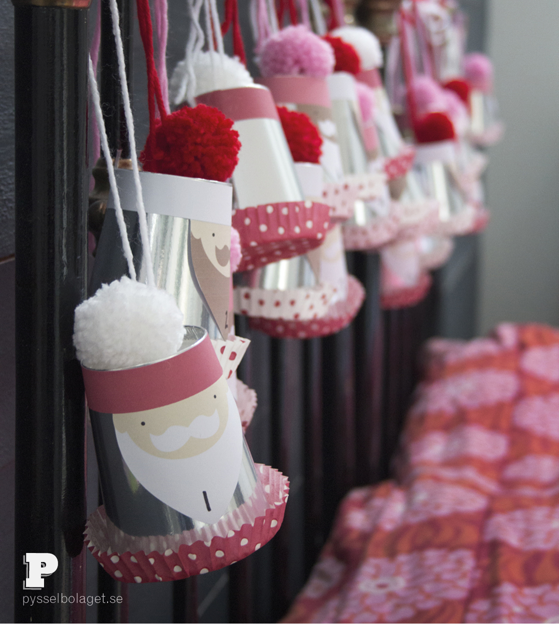 Santa Advent Calendar by Pysselbolaget