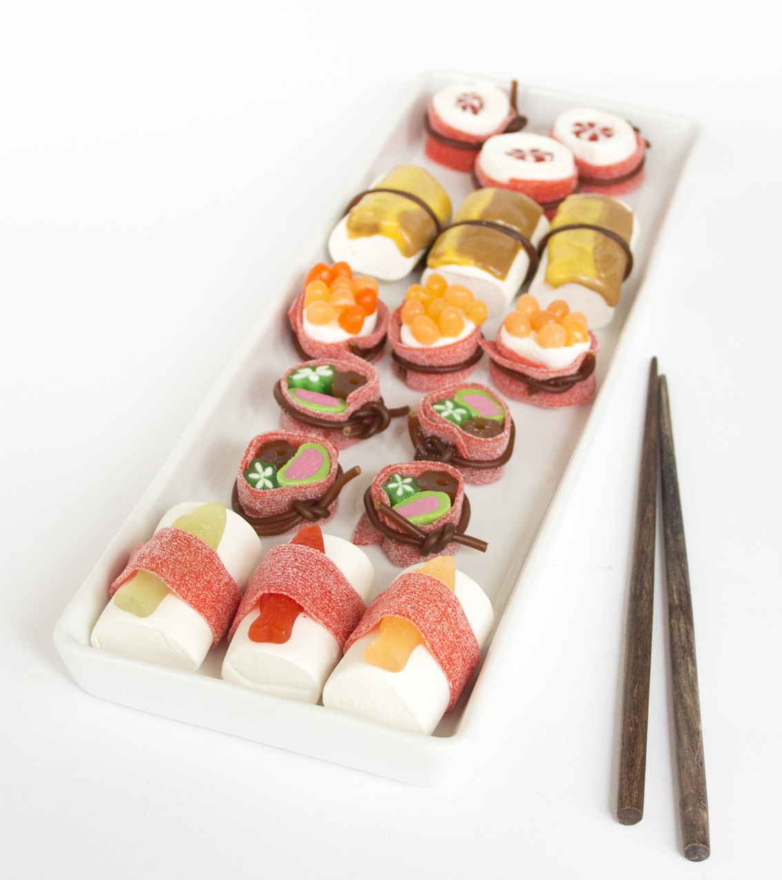 Godis sushi | Pysselbolaget