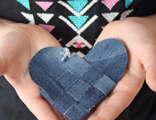 Återbruka jeans | Pysselbolaget
