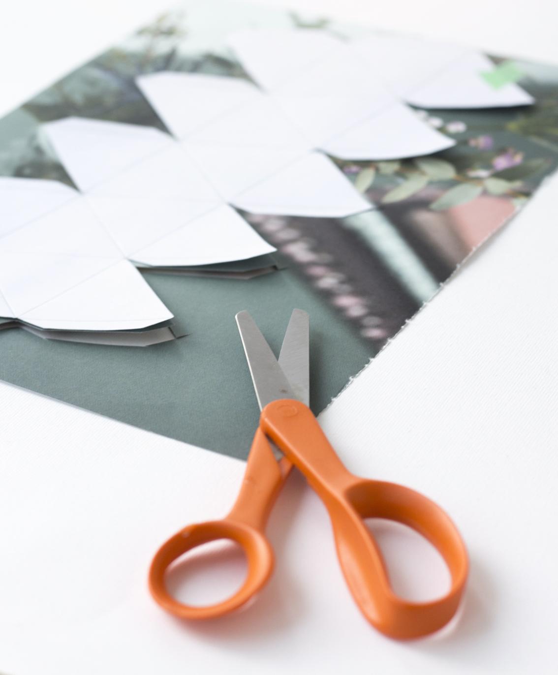 Julkulor av papper | Pysselbolaget