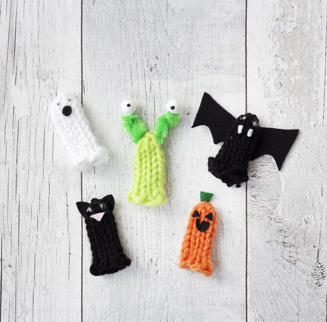 Påtade halloweenfigurer | Pysselbolaget