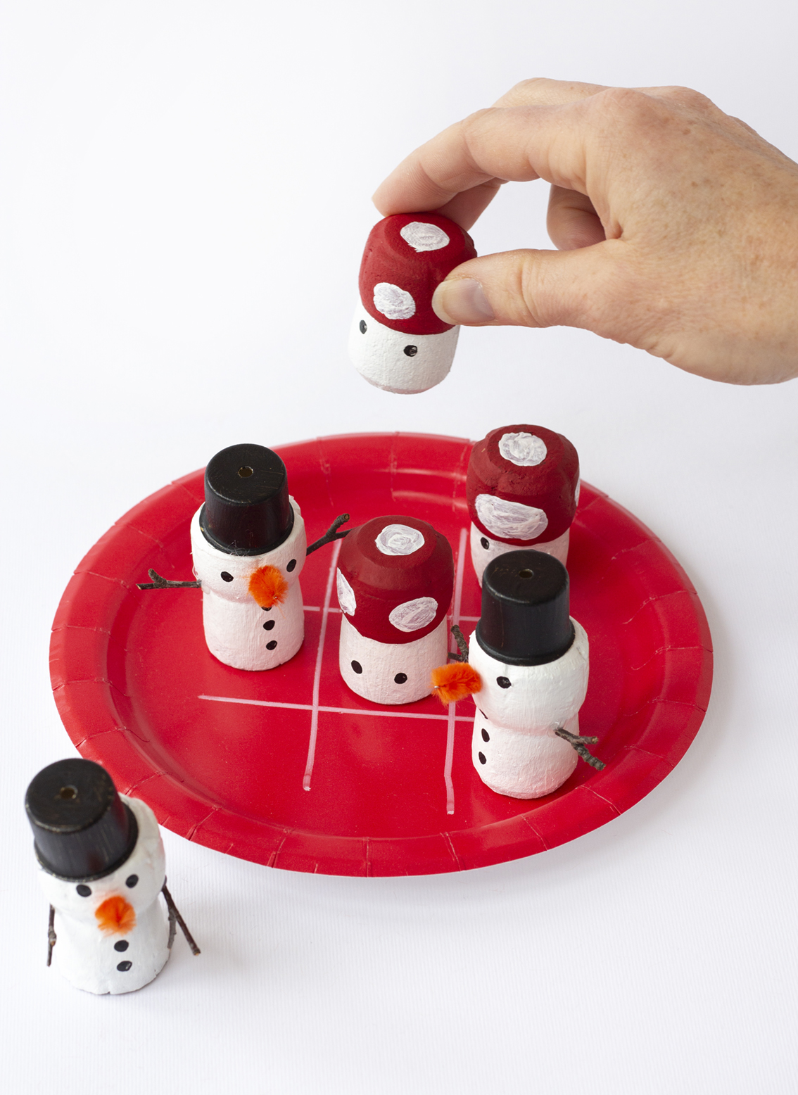 Julfigurer i kork | Pysselbolaget