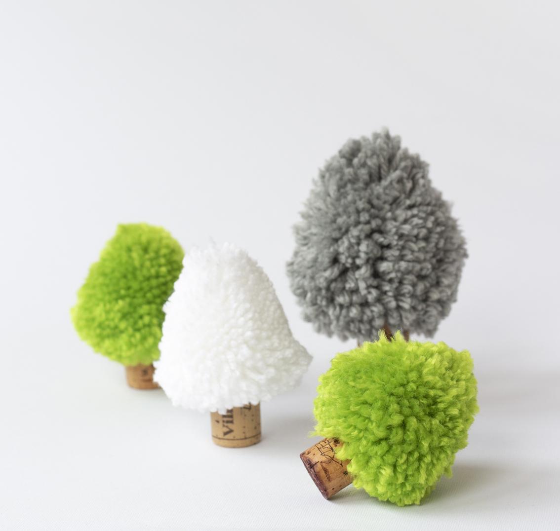 Granar av garnbollar | Pysselbolaget