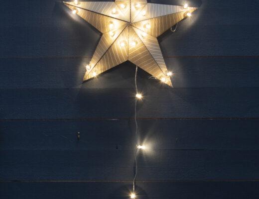 Återbrukad julstjärna | Pysselbolaget