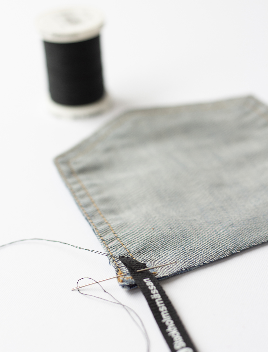 Väskor av jeans | Pysselbolaget
