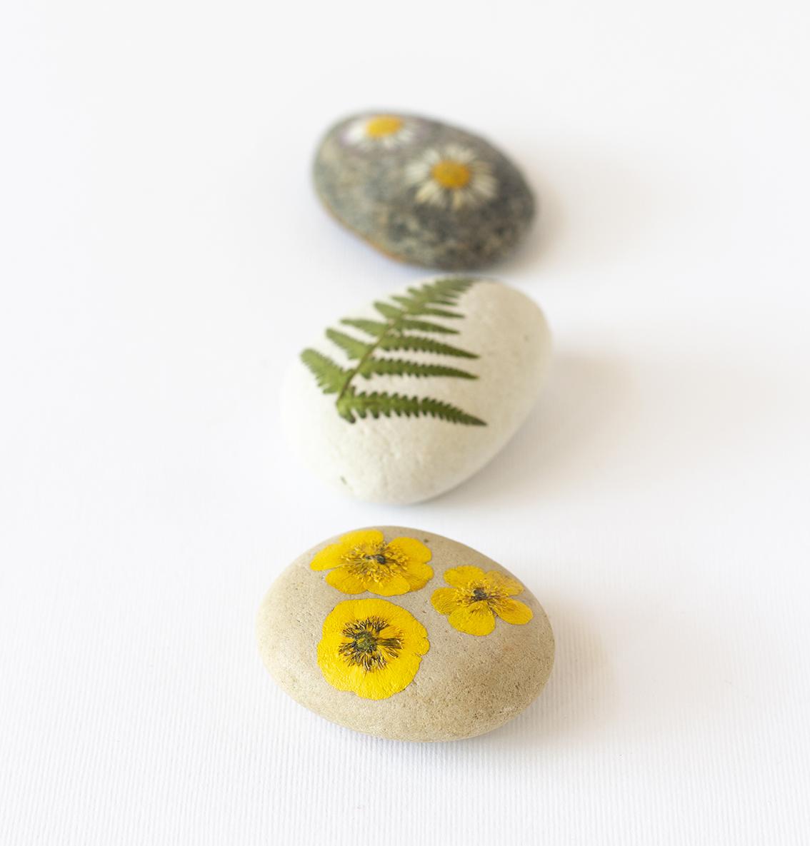 Blommor på sten | Pysselbolaget