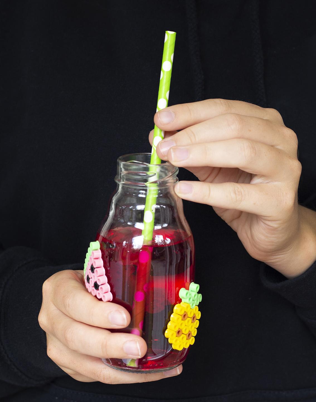 Dekorerade glasflaskor | Pysselbolaget