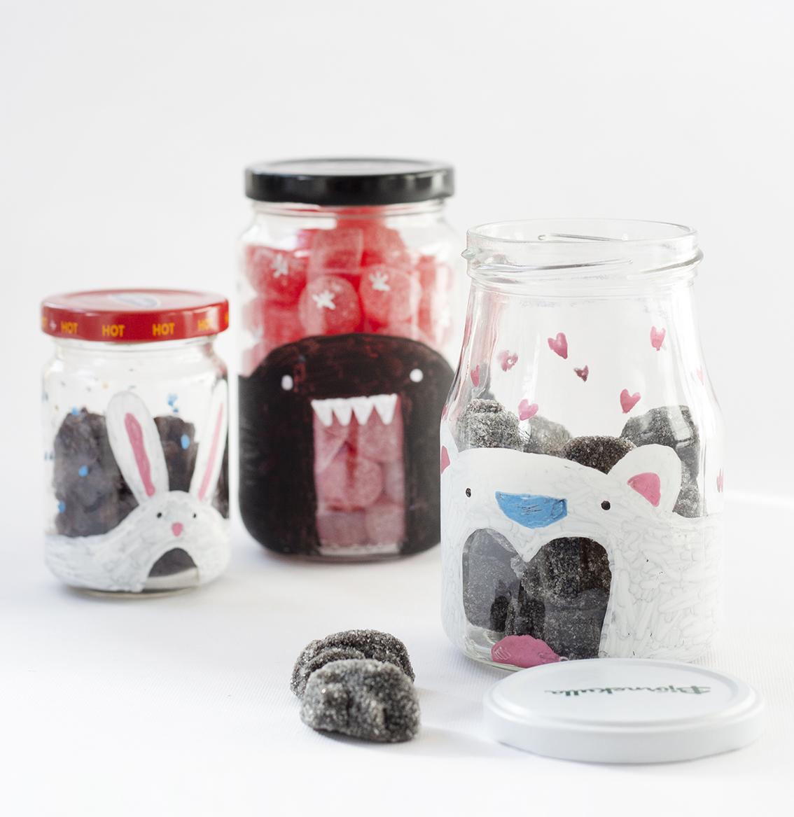 Glasburkar för godsaker | Pysselbolaget