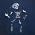 Halloweenskelett | Pysselbolaget