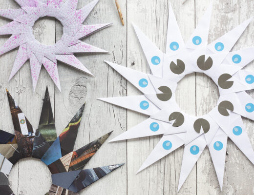 origamistjärna | Pysselbolaget