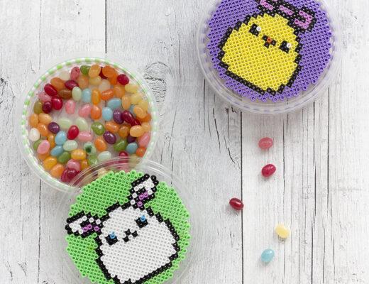 Pärlade godisburkar | Pysselbolaget