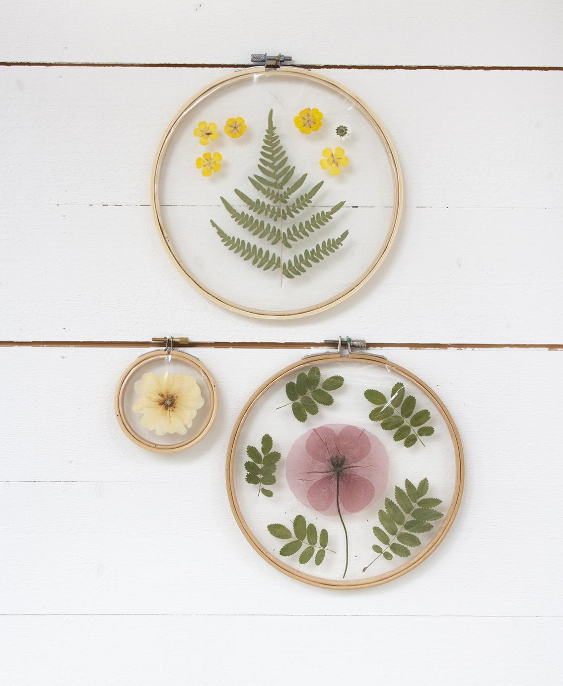 Konst av pressade blommor | Pysselbolaget