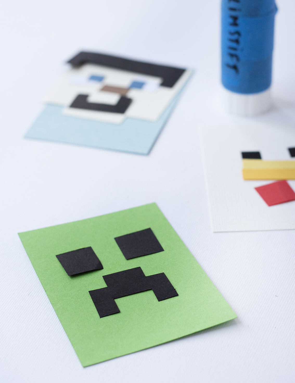 Minecraft fingerdockor | Pysselbolaget
